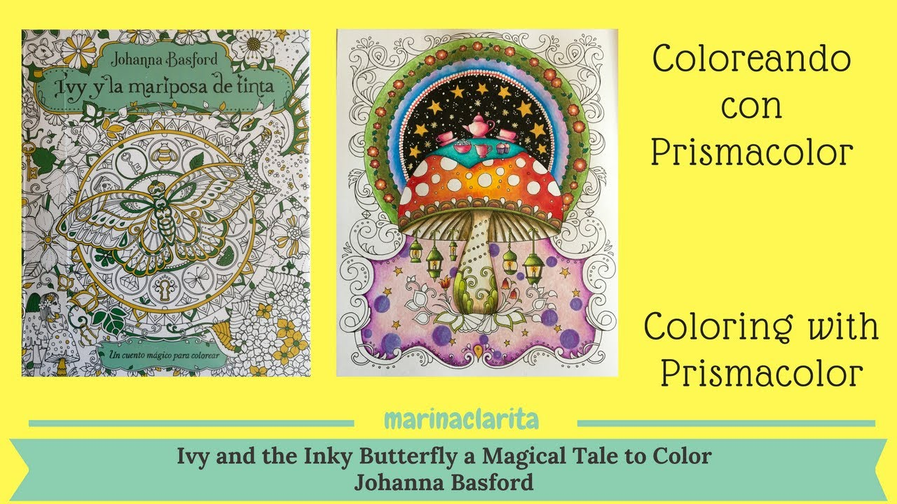Coloreando - Ivy and the Inky Butterfly - A Magical Tale