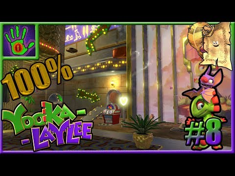 Guía Yooka-Laylee 100% español | PC | #8: Casino Capital (co
