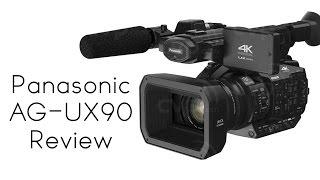 Panasonic AG- UX90 Camera Review (4K)