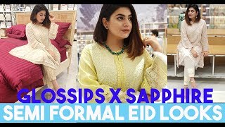 SAPPHIRE x GLOSSIPS - Shopping For EID | Glossips