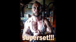 SUPERSET PETTORALI PANCA BILANCIERE PIÙ MANUBRI