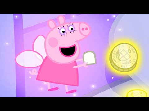 Peppa Pig Full Episodes | Meet Tooth Fairy With Peppa Pig
