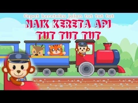 Lagu Anak - Naik Kereta Api [KOMPILASI LAGU ANAK - ANAK]