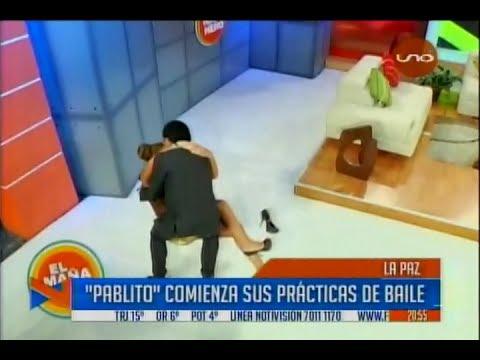 Blooper de Pablo Bustillo en El Mañanero