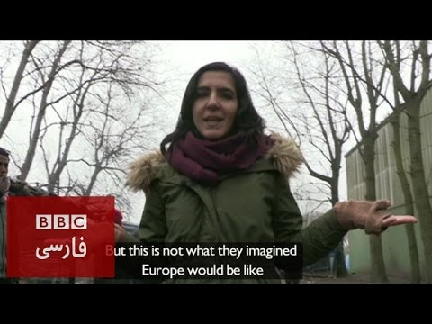 BBC Persian News and Current Affairs Reporters in Action