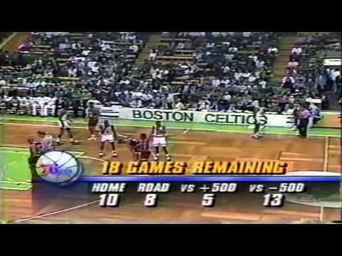 1990-91 Sixers vs. Celtics (7/7)