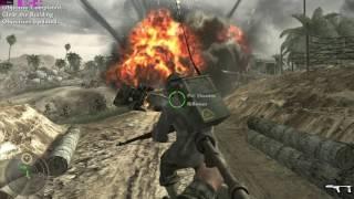 Call of Duty: World At War Campaign Part 3 - Hard Landing