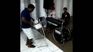 Sinach ..I know who I am (steel drum)