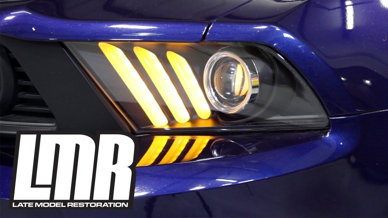 2010 mustang headlight [ 1280 x 720 Pixel ]