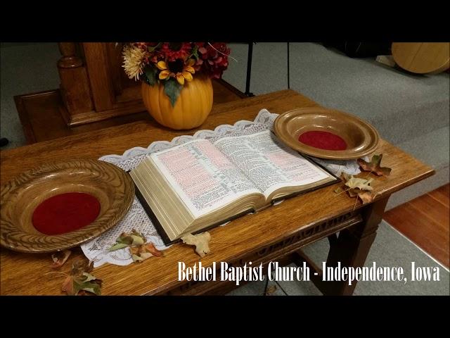 2017-11-26 Discipleship Training -
