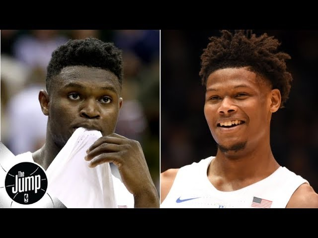 NBA rookies think Cam Reddish, not Zion Williamson, will have the better career   The Jump