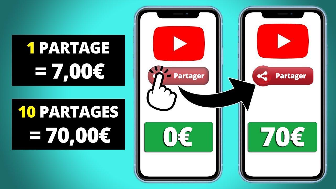 700€ POUR PARTAGER DES VIDÉOS YOUTUBE | GAGNER ARGENT PAYPAL FACILE