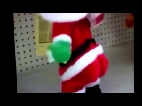 Shake your booty down to the ground Santa!!!