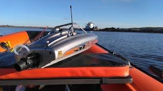 Лодка с ВОДОМЕТОМ ... тест-драйв и обслуживание ProBoat River Jet 23