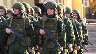 Уфимский спецназ отправляется на Северный Кавказ