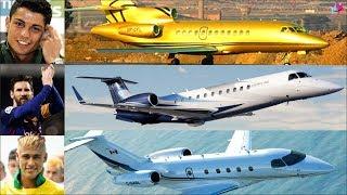 যে ১০ জন ফুটবলার পৃথিবীর সেরা বিলাসবহুল বিমানের মালিক। Luxurious Private Jet Of Football Players