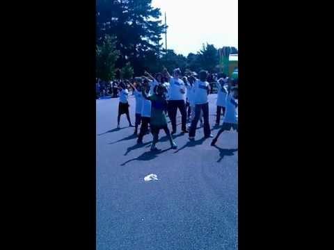 Earth Saver Girl and her Earth Savers Flash Mob