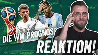 REAKTION: WM 2018 Prognose feat. Frankreich, Salah und Cristiano Ronaldo