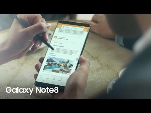 Samsung Galaxy Note8  – Film produit (version longue)
