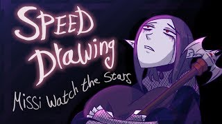 Speed Drawing: Missi Watch The Stars