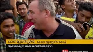 Warm Welcomes to Kerala Blasters New Coach Rene Meulensteen