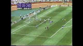 Brazil vs Russia (Score: 2-0) - USA 1994 FIFA World Cup (Goals)
