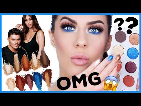 KKW x MARIO PALETTE!! HONEST REVIEW - IS IT ACTUALLY WORTH IT?? thumbnail