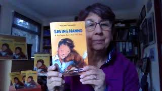 Miriam Halahmy Introduces 'Saving Hanno'