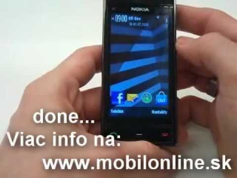 Výmena: LCD displej, dotykove sklo Nokia X6 , How to change Nokia X6 LCD touchscreen
