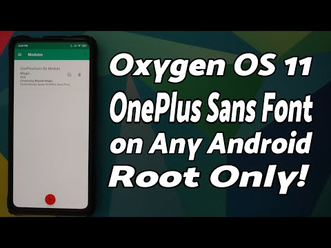 How to Install OnePlus Sans Font on Any Rooted Android Phone