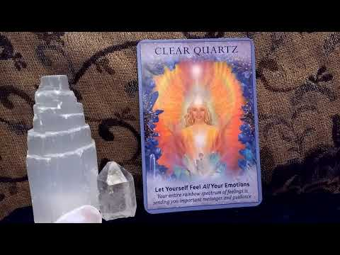 Daily Oracle Card Reading Crystal Angels 21st January 2018 by Fairy Willow new  tarot