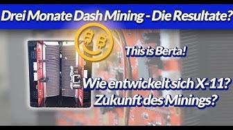 Dash selber minen - Erfahrung - Algo wechseln