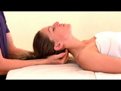 Occipital Base Release from Cranial Sacral Therapy 1 Seminar massage therapy