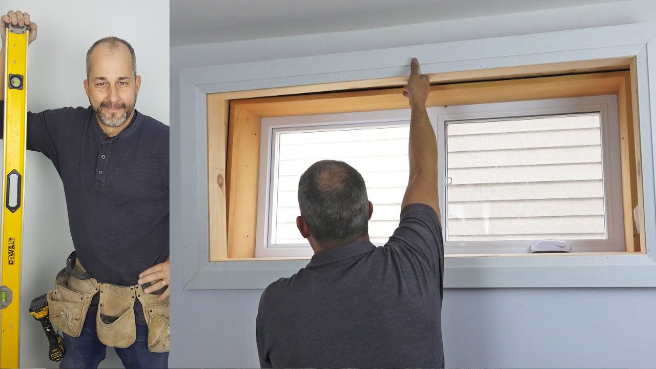 How To Install Window Trim with Jamb Extensions Easy