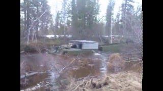 all-terrain vehicle ДТ 10П форсирование ручья