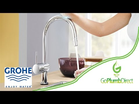 Grohe   Minta Sink Mixer With Extractable Pull Out Spray   32321000