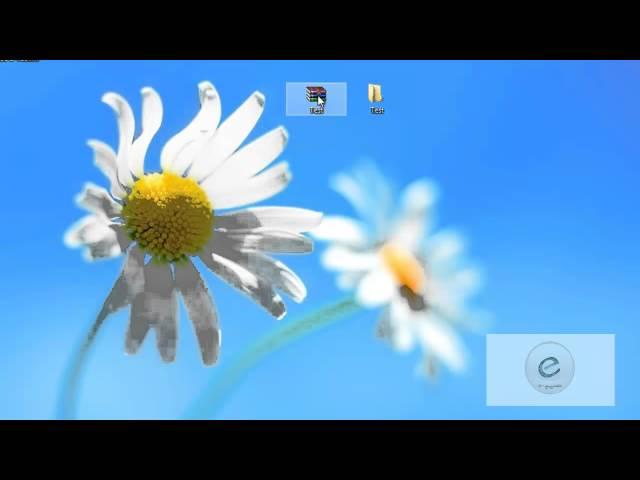 Windows 8 : Leçon  8 :  Winrar  ضغط الملفات وإلغاء ضغطها