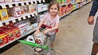 Kid Grocery Shopping
