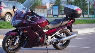 """Yamaha FJR1300 (Тест от Ксю) - рубрика """"Кому за сто!"""""""