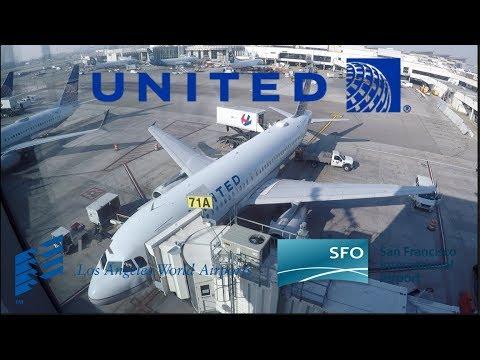 TRIPREPORT   Los Angeles - San Francisco   United Airlines (PREMIUM ECONOMY)   Airbus A320