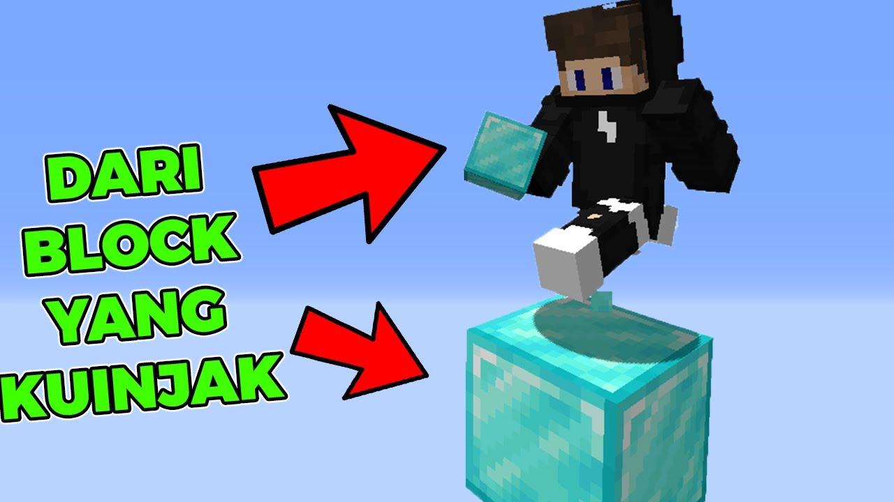 Minecraft Tapi Aku Dapat Semua Block Yang Kuinjak !