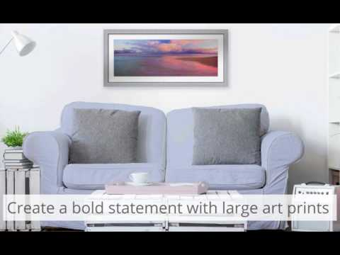 Framed Modern Pastel Art I Decorating Ideas I FRAMED ART TV
