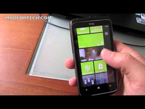 HTC 7 Trophy Review Greek / madfortech.com
