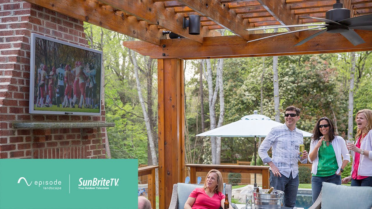 Outdoor Entertainment With Episode Landscape Speakers Sunbritetv