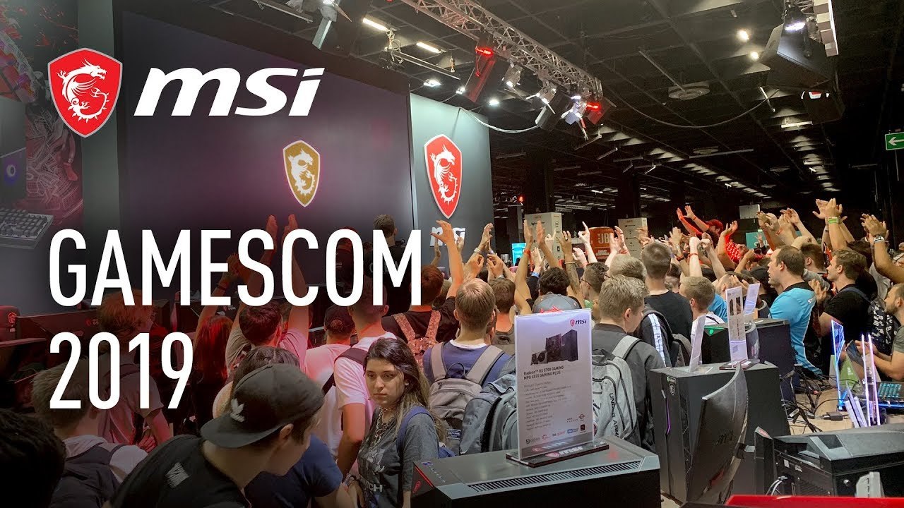 Best of MSI @ Gamescom 2019