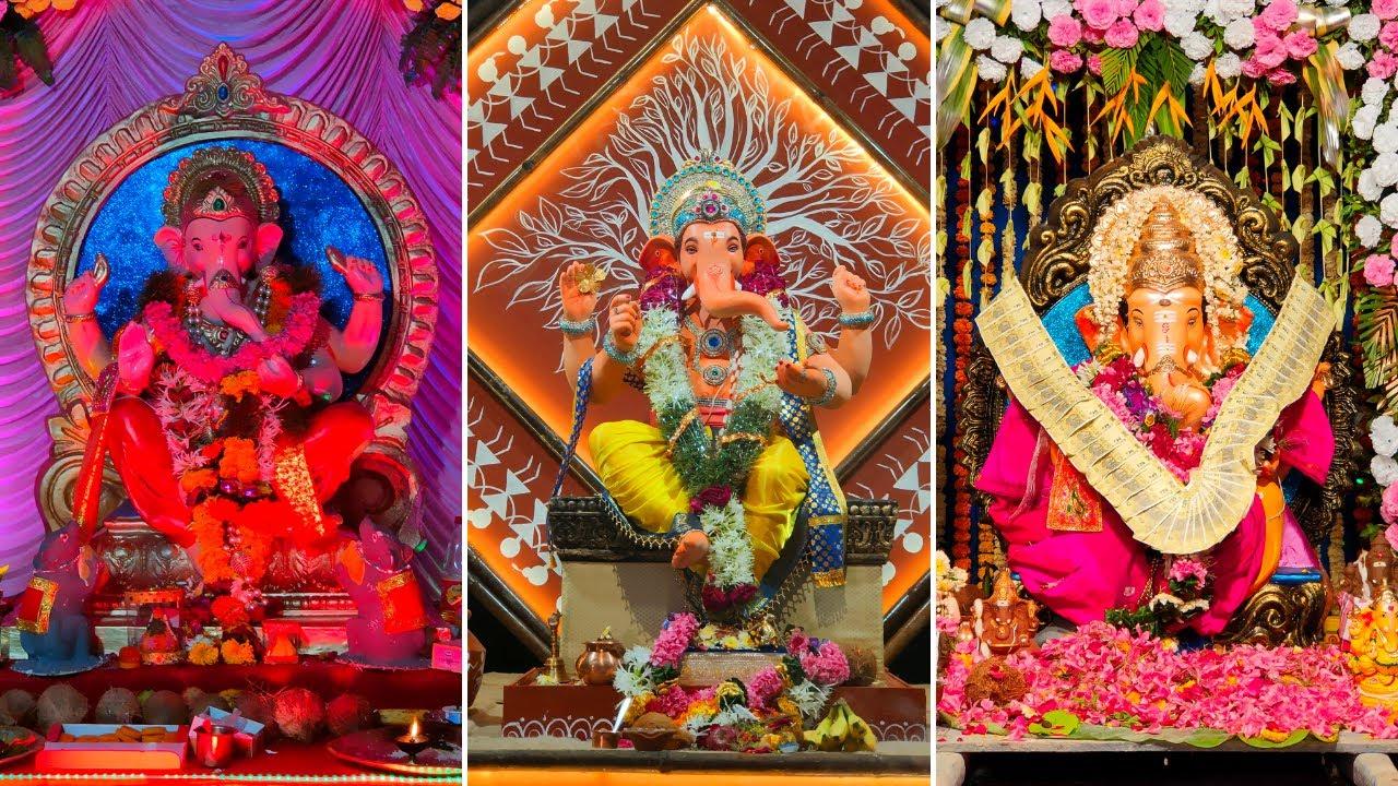 Matunga Ganpati Darshan 2021 - गणपति दर्शन 2021 - Mumbai Ganpati - Mumbai Cha Ganpati
