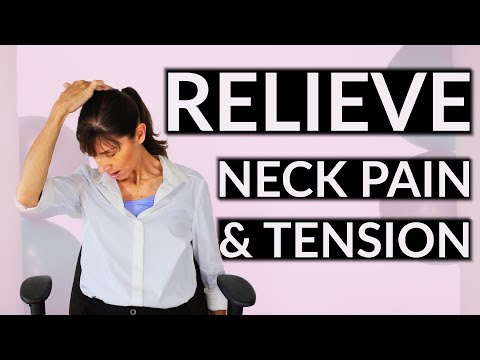 Relieve Neck Pain & Tension at Your Desk - Daily Physio Routine