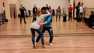 KikoChristina dance projects, Bachata Sensual clases  in Hamburg 2. Nov´15