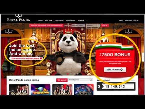 Royal Panda Review 100 Bonus Up To 7500 Youtube