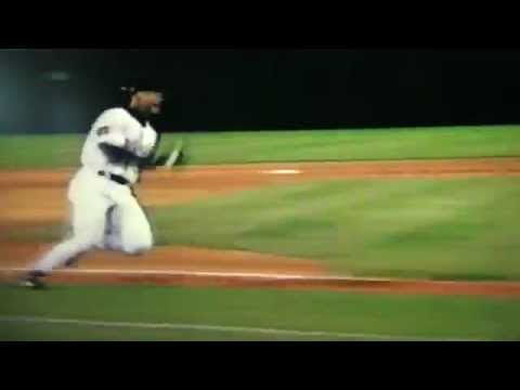 Ellis Burks Attempts Inside-The-Park Home Run
